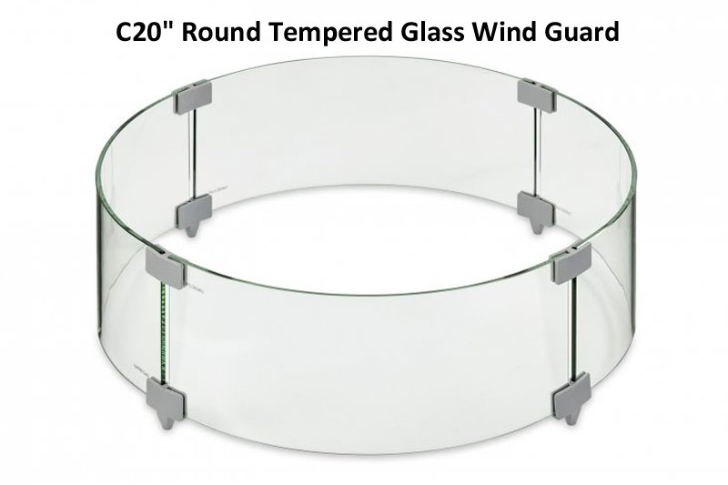 Tempered Round Glass